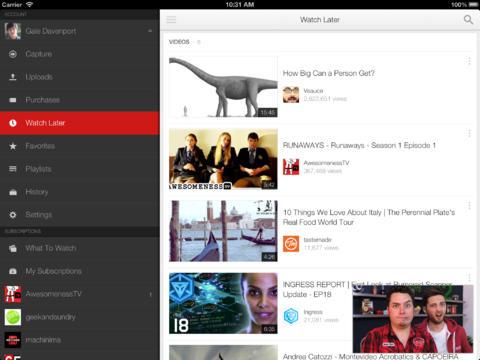 """Bản cập nhật YouTube 2.0 cho iOS """"lột xác"""" hoàn toàn - 1"""