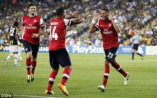 Fenerbahce – Arsenal: Vượt qua bão tố - 1