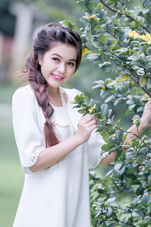Vẻ đẹp trong trẻo của cô gái Phú Quốc - 1