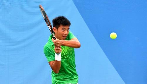 Hoàng Nam ngược dòng giành HCV quần vợt trẻ châu Á - 1