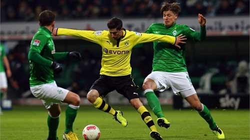 Dortmund - Bremen: Thắng lợi nhọc nhằn - 1