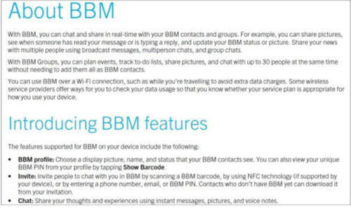 """BlackBerry Messenger """"cập bến"""" Android và iOS - 1"""