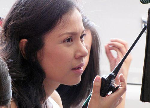 Việt Trinh dọa đuổi diễn viên - 1