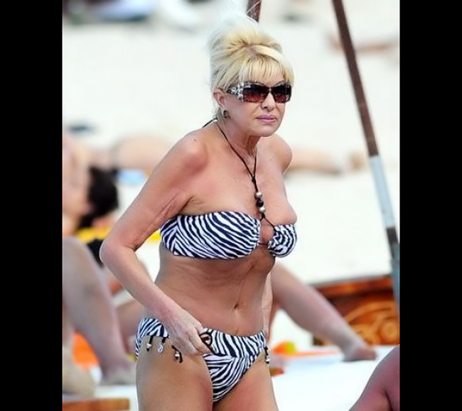 Ivana Trump - vợ cũ tỷ phú Donald Trump.