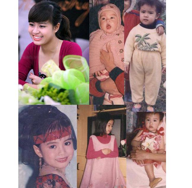 Nữ ca sĩ sinh năm 1988 Hoàng Thùy Linh từ bé đã có gương mặt rất nét và xinh đẹp đặc biệt là đôi môi và đôi mắt tròn to