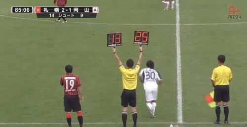 Công Vinh đá 5 phút, Sapporo bị mất điểm - 1