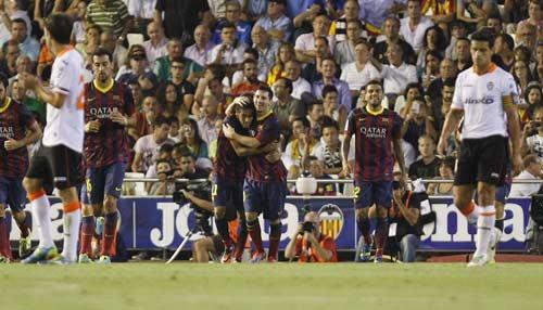 Valencia – Barca: Cống hiến cao độ - 1