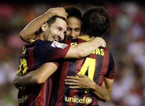 Tata hài lòng sự kết hợp Messi – Neymar - 1