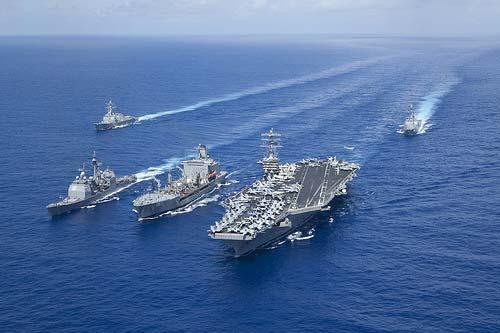 Mỹ điều tàu sân bay khủng nhất tới gần Syria - 1