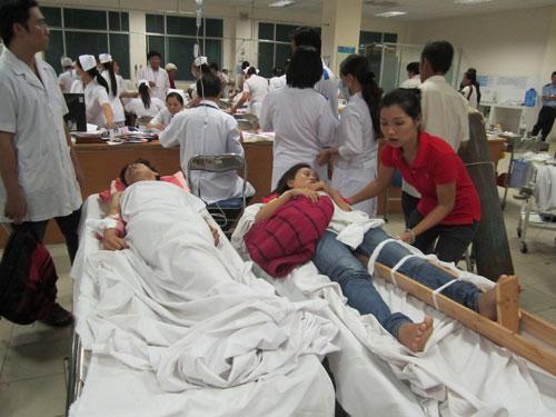 TP.HCM: Hơn 3.200 ca cấp cứu dịp nghỉ lễ 2/9 - 1