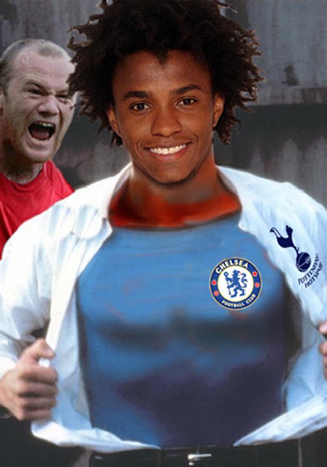 Cuối cùng, Willian chọn Chelsea chứ không phải Tottenham.