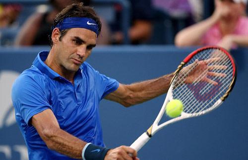 """Tuyệt tác kiểu """"phủi"""" của Federer - 1"""
