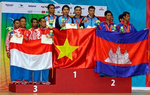 Việt Nam quyết giành 70 HCV SEA Games 2013 - 1
