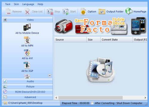 Format Factory: Phần mềm chuyển đổi định dạng nhạc, phim miễn phí - 1
