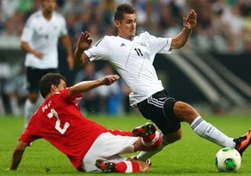 Đức - Áo: Không thể ngăn cản - 1