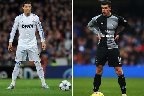 Xem Ronaldo chào đón Gareth Bale - 1