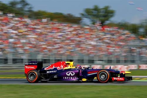 F1 - Chạy thử Italian GP: Lại là Red Bull - 1