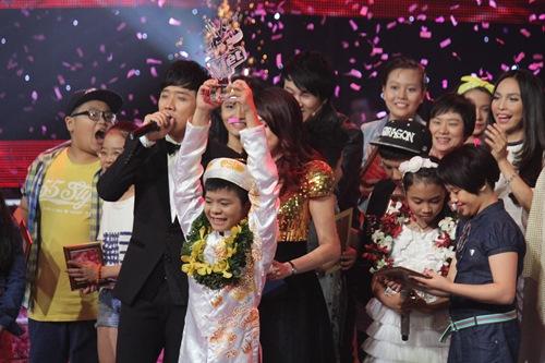 Quang Anh chiến thắng Giọng Hát Việt Nhí 2013 - 1