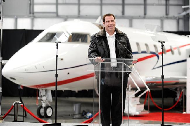 John Travolta sở hữu chiếc Qantas Boeing 707