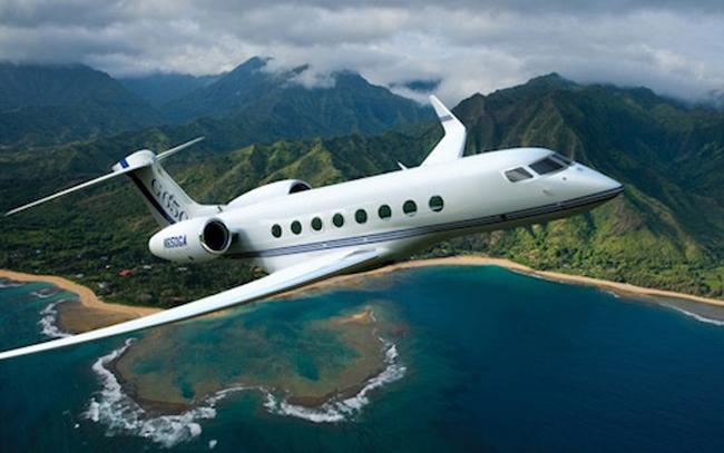 Đây là máy bay Bombadier Global Express của Oprah Winfrey