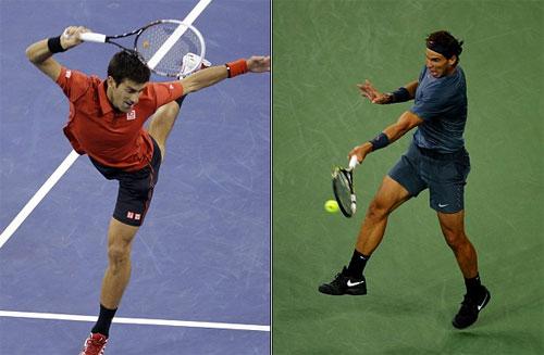 Djokovic & Nadal đôi công 54 lần chạm vợt - 1