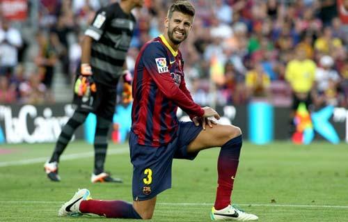 """Pique: """"Barca đang là nô lệ của tiki-taka"""" - 1"""