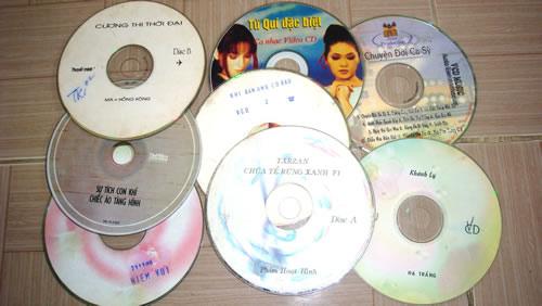"""Độc chiêu của khách """"mua đĩa CD, VCD cũ"""" - 1"""