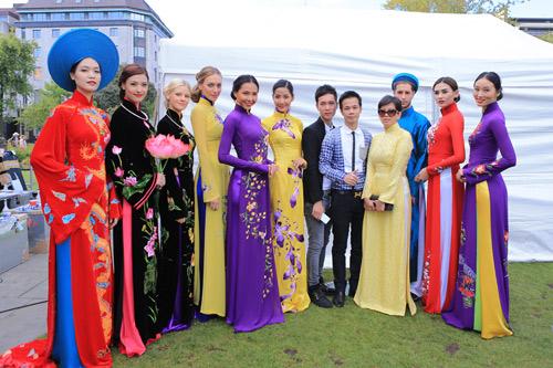 Người đẹp mang hồn Việt đến Scotland - 1