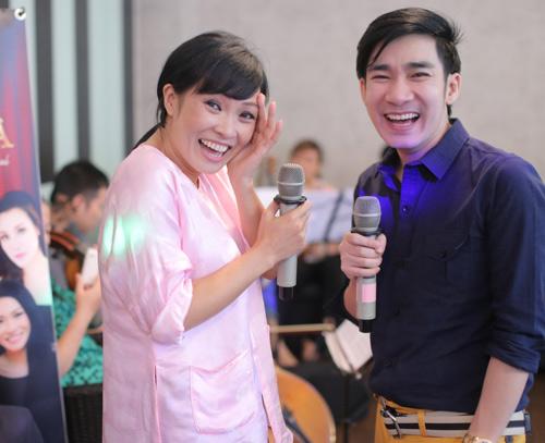 Quang Hà cùng đàn chị chuẩn bị liveshow - 1