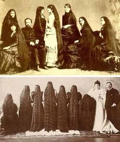 """Những """"phù thủy"""" tóc dài nổi danh toàn cầu - 1"""