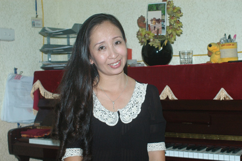 Gặp cô giáo thanh nhạc của Quang Anh - 1