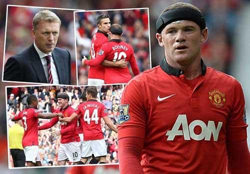 David Moyes cấm Young ăn vạ, khen Rooney - 1