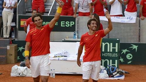 Nadal & Murray cùng đánh đôi tại Davis Cup - 1