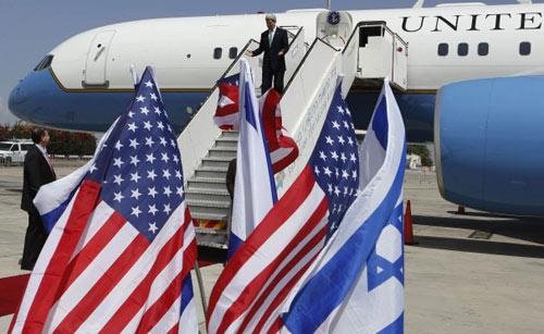 Ngoại trưởng Mỹ trấn an Israel về Syria, Iran - 1