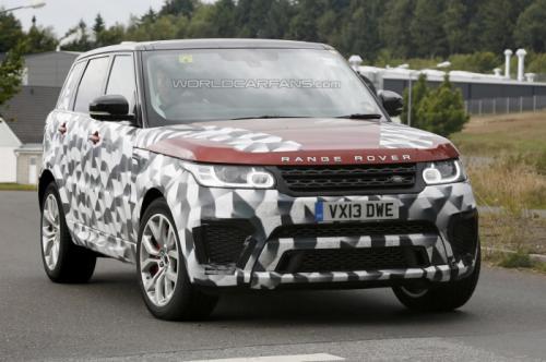 2015 Range Rover Sport RS hầm hố lộ mặt - 1