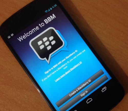 BlackBerry Messenger sẽ có trên Google Play vào 20/09? - 1