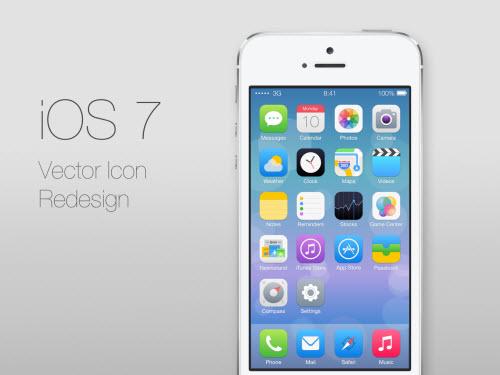 """Cư dân mạng """"sốt"""" với iOS 7 - 1"""