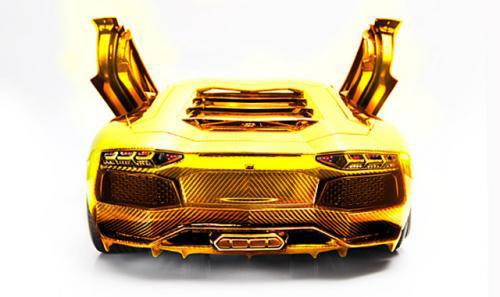 Lamborghini bằng vàng giá 7,5 triệu USD - 1