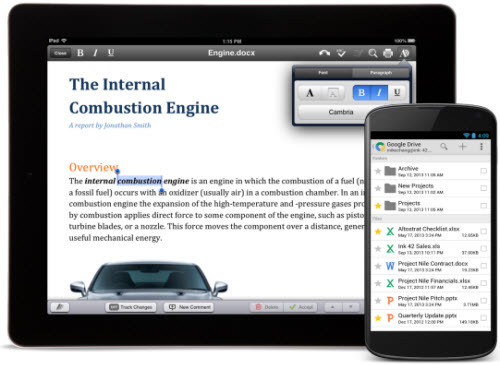 Quickoffice miễn phí cho người dùng Android và iOS - 1