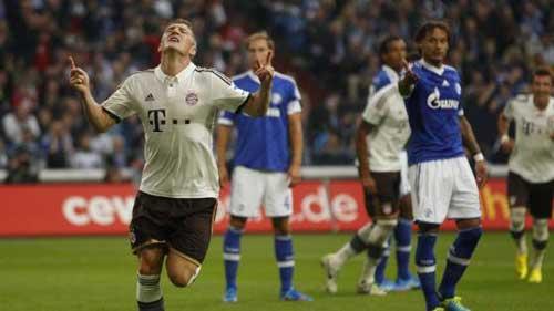 Schalke – Bayern: Sức ép nghẹt thở - 1