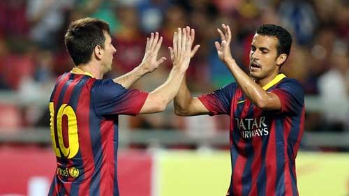 Vallecano – Barca: Kép phụ Messi-Neymar - 1