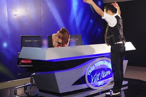 Mỹ Tâm được thí sinh Vietnam Idol tỏ tình - 1