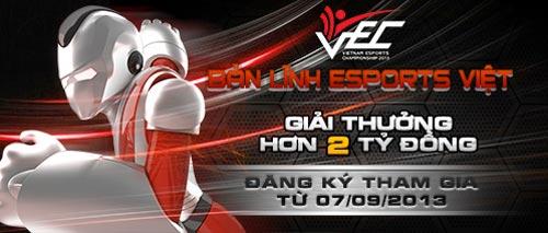 Khởi động giải vô địch thể thao điện tử VEC 2013 - 1