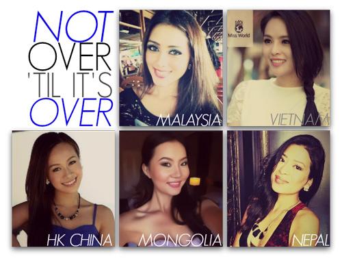 Hương Thảo bất ngờ lọt top Miss World - 1