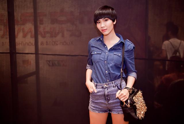 """Mẫu trẻ Tp.HCM """"nghiện"""" short jeans - 1"""