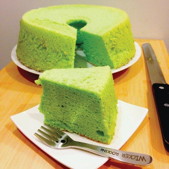 Làm bánh Chiffon trà xanh cực dễ - 1