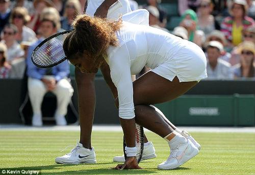 Serena bỏ cuộc vì căn bệnh bí hiểm - 1