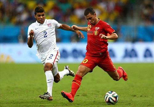HLV Wilmots: Argentina có Messi, Bỉ có De Bruyne và Hazard - 1