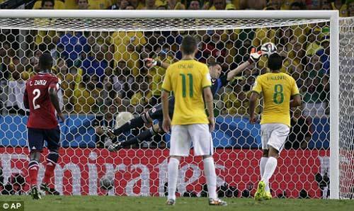 Brazil - Colombia: Xứng danh đại chiến - 1
