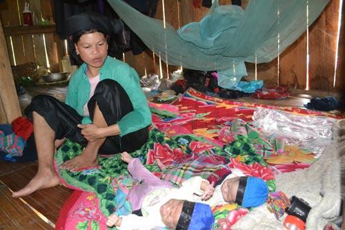 Gặp người phụ nữ sinh 2 con cách nhau 30 ngày - 1